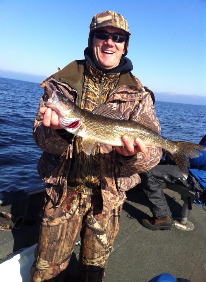 Fall Walleye Fishing at Little Winnie Resort near Deer River, MN, means bigger, fiestier walleye.