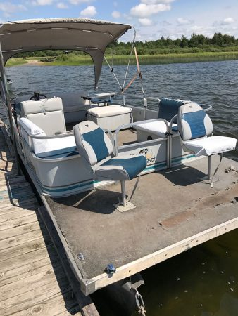 20' Palm Beach Pontoon