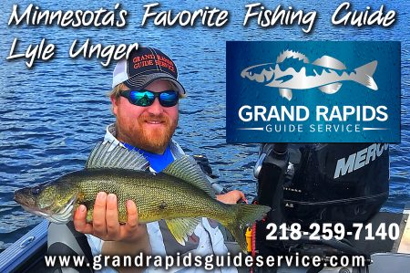 Minnesota Fishing Guide Lyle Unger of Grand Rapids Guide Service has guided hundreds of anglers on northcentral Minnesota lakes.