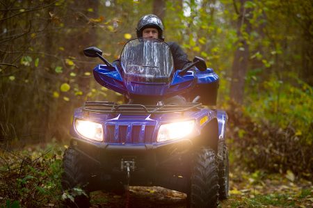 ATV Riding in Itasca County at Little Winnie Resort, Deer River, MN.