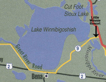 Lake Winniebigoshish is well-known for great walleye fishing and perch fishing.