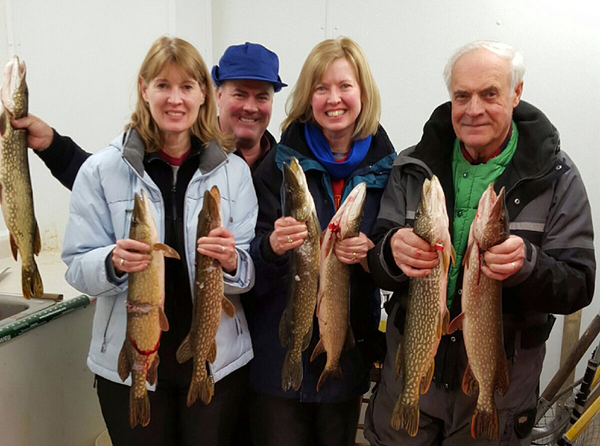 Darkhouse Spearing Success