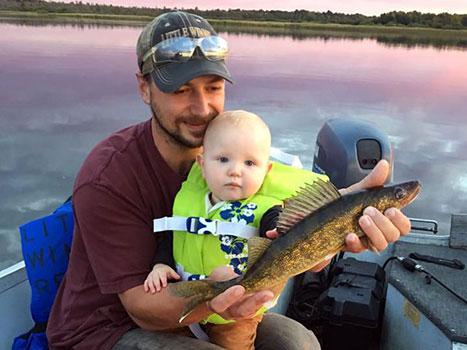 Enjoy world-class walleye fishing on Lake Winnibigoshish and Little Winnie Lake.